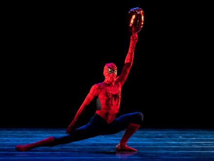 Edward Watson as Spiderman